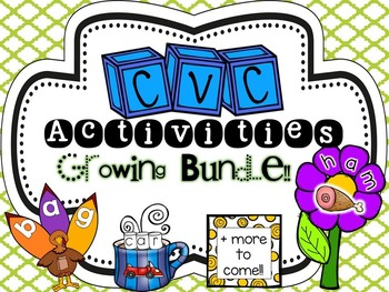 CVC Activity Bundle