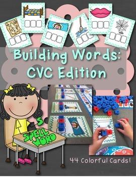 Building Words: CVC Edition