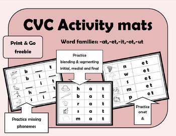 CVC Activity Mats