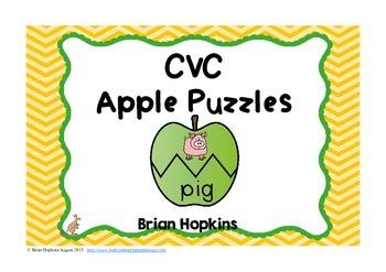 CVC Apple Puzzles