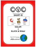 CVC Articulation [Short O] Color & Black&White!