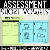 CVC/Short Vowel Assessment