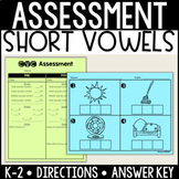 CVC/Short Vowel Assessment