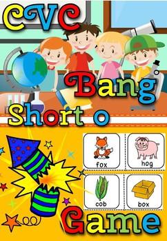 CVC BANG GAME- SHORT O