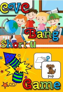 CVC BANG GAME- SHORT u