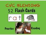 CVC BLENDING FLASH CARDS- Teach Reading