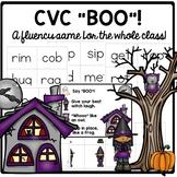 Halloween Activities a whole group CVC fluency game!