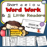 CVC Spelling Word Work BUNDLE with Books