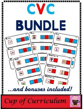 PHONICS TILES: CVC BUNDLE