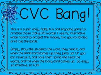 CVC Bang FREEBIE!