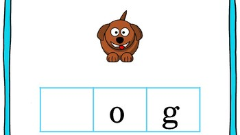 CVC Beginning Middle & End Letter Sounds Game! No Prep required!