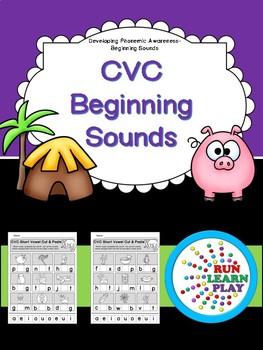 CVC Beginning Sounds