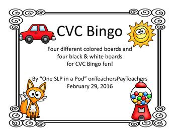 CVC Bingo