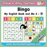 CVC Bingo: My English Book and Me 4 Set B