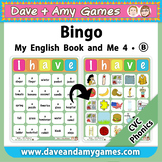 CVC Bingo: My English Book and Me 4 Set B