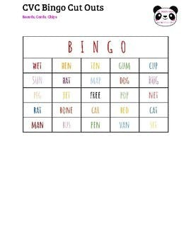 CVC Bingo Full Set
