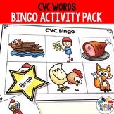 CVC Words Bingo Game