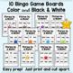 CVC Word Bingo - Mixed Practice With Short Vowels