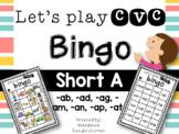 CVC Bingo (Short A)