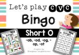 CVC Bingo (Short O)