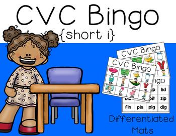 CVC Bingo {short i}