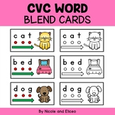 CVC Word Blend Cards