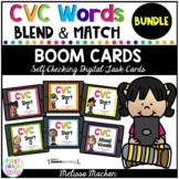 CVC Blend & Match Digital Boom Cards BUNDLE - Distance Learning