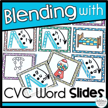 Beginning CVC Words Blending Slides Activity