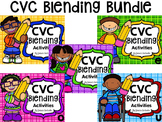 CVC Blending Activities Bundle