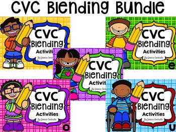 CVC Blending Activities Bundle