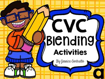 CVC Blending Activities Short A