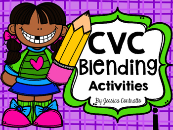 CVC Blending Activities Short I
