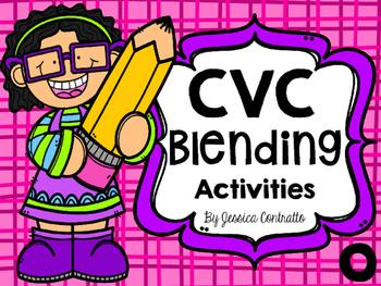 CVC Blending Activities Short O