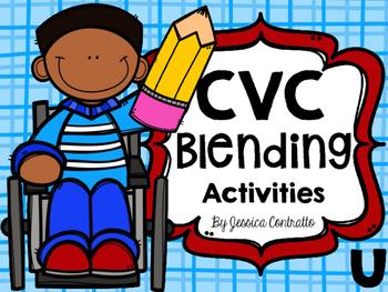 CVC Blending Activities Short U