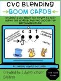 CVC Blending Boom Cards Digital Task Cards