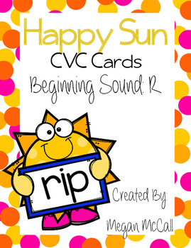 "CVC Blending Cards--Onset ""R"""