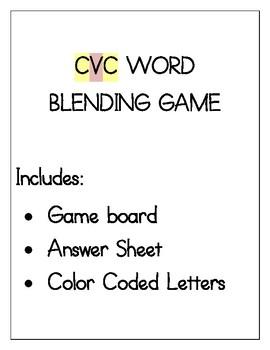 CVC Blending Game