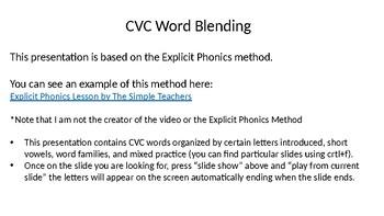 CVC Blending PowerPoint