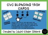 CVC Blending Task Cards for a-e-i-o and u