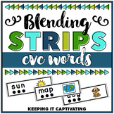 CVC Words Blending Strips