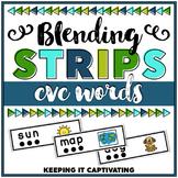 CVC Words Blending Strips