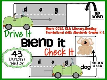 CVC Blending activity for hands on learners