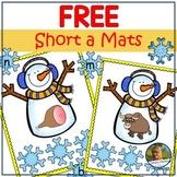 CVC Blending and Segmenting Snowman Game Free Sample