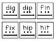 CVC Blending and Segmenting cards