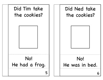 Reading Comprehension Interactive Book