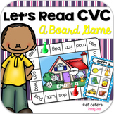 Short Vowel Board Game ~ Let's Read CVC!
