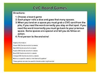 CVC Board Games