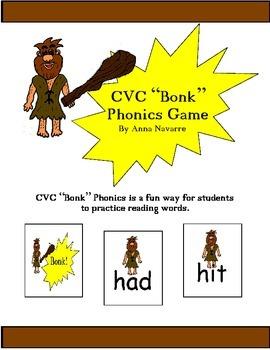 """CVC """"Bonk"""" Phonics Game"""