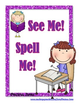 CVC Book:  See Me!  Spell Me!