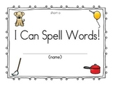CVC Book Spelling words with short o